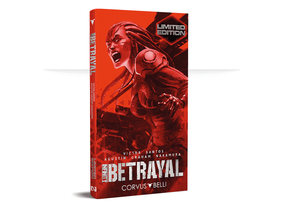 Exclusive Miniature LIMITED EDITION Englisch Infinity Betrayal Graphic Novel