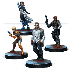 All characters for the Agents of the Human Sphere box