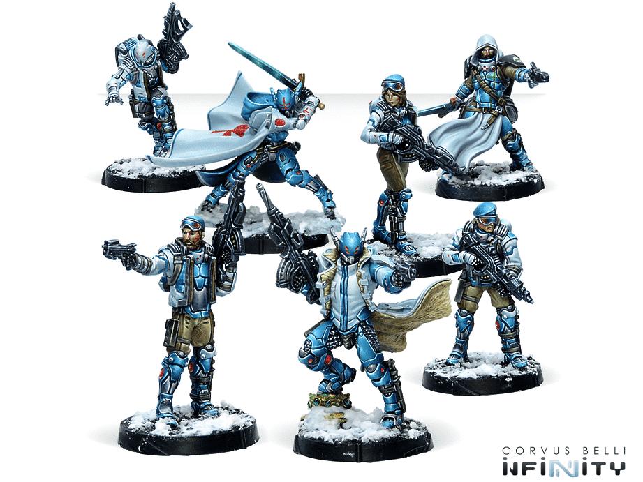 Infinity PanOceania CodeOne Operation Kaldstrom Battle Pack